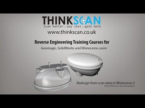 Reverse engineering courses | Rhinoceros 5  Sample