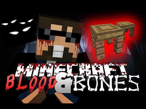Minecraft FTB BLOOD AND BONES 1 - THIS IS HARD (Minecraft Mod Survival FTB)