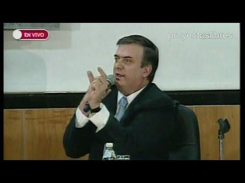 Marcelo Ebrard Wikipedia Marcelo Ebrard en Audiencia