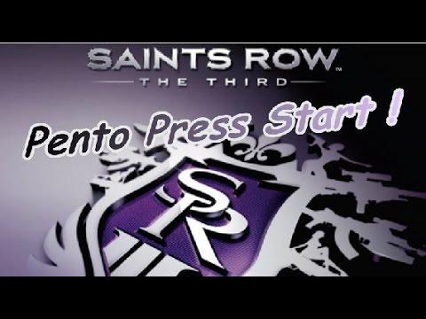 PENTO PRESS START : Test Saints Row The Third (mode solo)