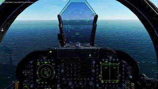DCS WORLD ONLINE CARRIER LANDING FT. The F/A-18C With Anon6 Injerin ~ It's not as easy as it looks!