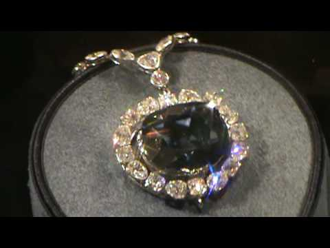 Hope Diamond at DC Museum