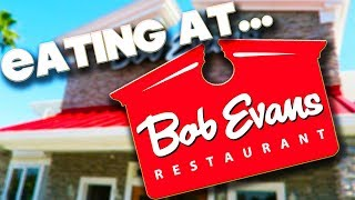 EATING AT - BOB EVANS RESTAURANT - ORLANDO