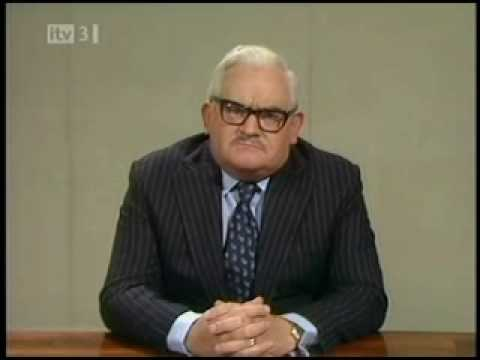 Ronnie Barker - Mispronunciation Sketch