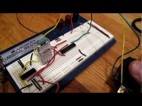 Diamond Antenna K9000 Controller using ATtiny2313 and TI SN754410