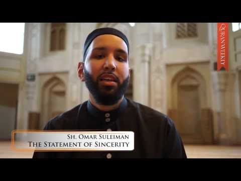 Statement Of La Ilaha Illa Alllah  ┇ Omar Suleiman ᴴᴰ video