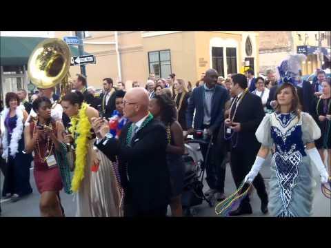 "Richard ""Piano"" Scott's Brass Band Convention Parade"