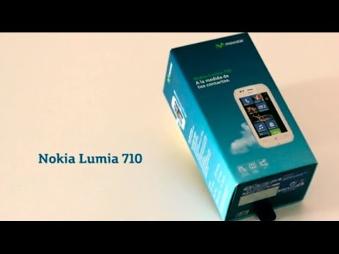 Video: Unboxing NOKIA Lumia 710 con Movistar