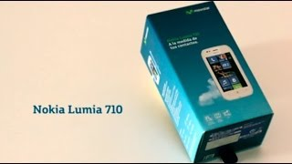 Unboxing NOKIA Lumia 710 con Movistar