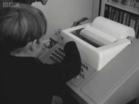 Tomorrow's World: Home Computer Terminal 20 September 1967 - BBC