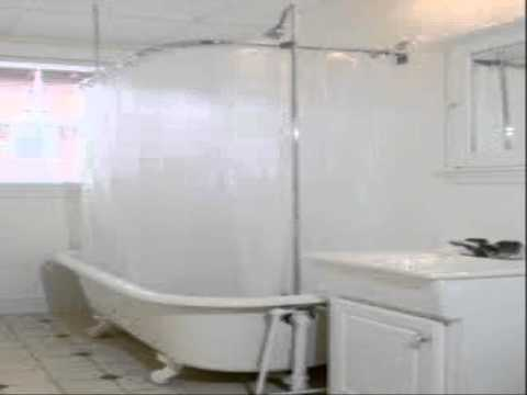 Clawfoot Tub Shower Curtain Liner Solution How To Make Do Everything