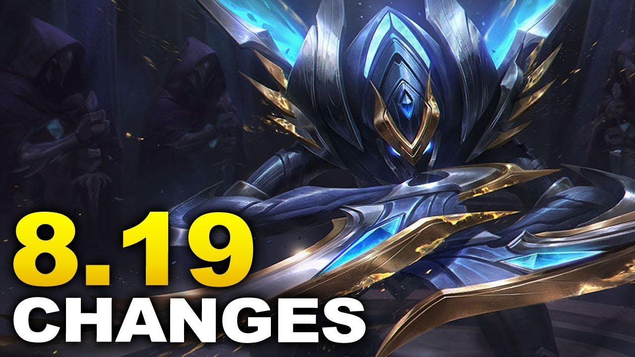 WORLDS PATCH! New changes coming soon in Patch 8.19