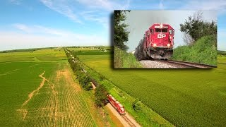 CP 6234 East (Two ex-SOO SD60s) on 8-5-2015