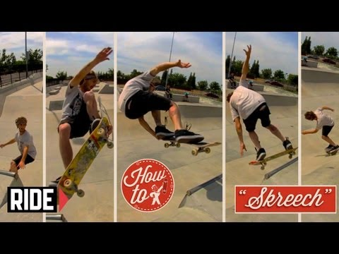 "How-To Skateboarding: Lien Air Revert with Josh ""Screech"" Sandoval"