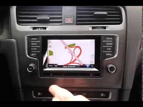 Multimedia video interface Composition Media Golf 7 DVB-T AutoMapa PL