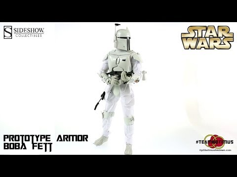Video Review of the Sideshow Collectibles: Prototype Armor Boba Fett
