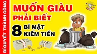 8 Định Luật Kiếm Tiền Giúp Bạn Nhanh Chóng Thoát Nghèo - Làm Giàu Từng Ngày