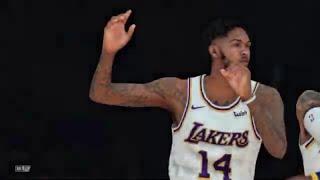 NBA 2K19 - Golden State Warriors vs Los Angeles Lakers (1080p 60 FPS)