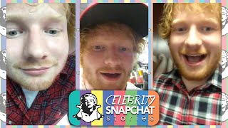ED SHEERAN September 2015 Snapchat Story