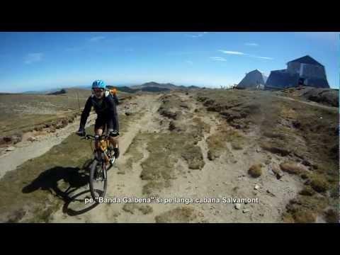 Aventuri pe bicicleta - Tura MARE - Traseul: Crucea Caraiman (Crucea Eroilor) - Varfu' Omu