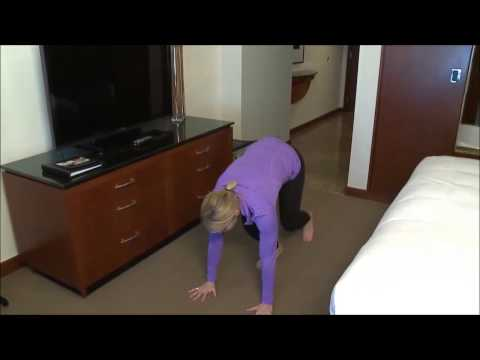 Hotel Room Yoga Series While Traveling