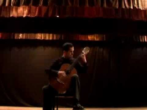 Bach´s Chaconne BWV 1004 (part I) played by Israel Vazquez