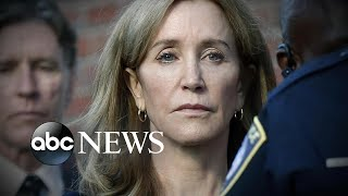 New details of Felicity Huffman's life in prison | ABC News