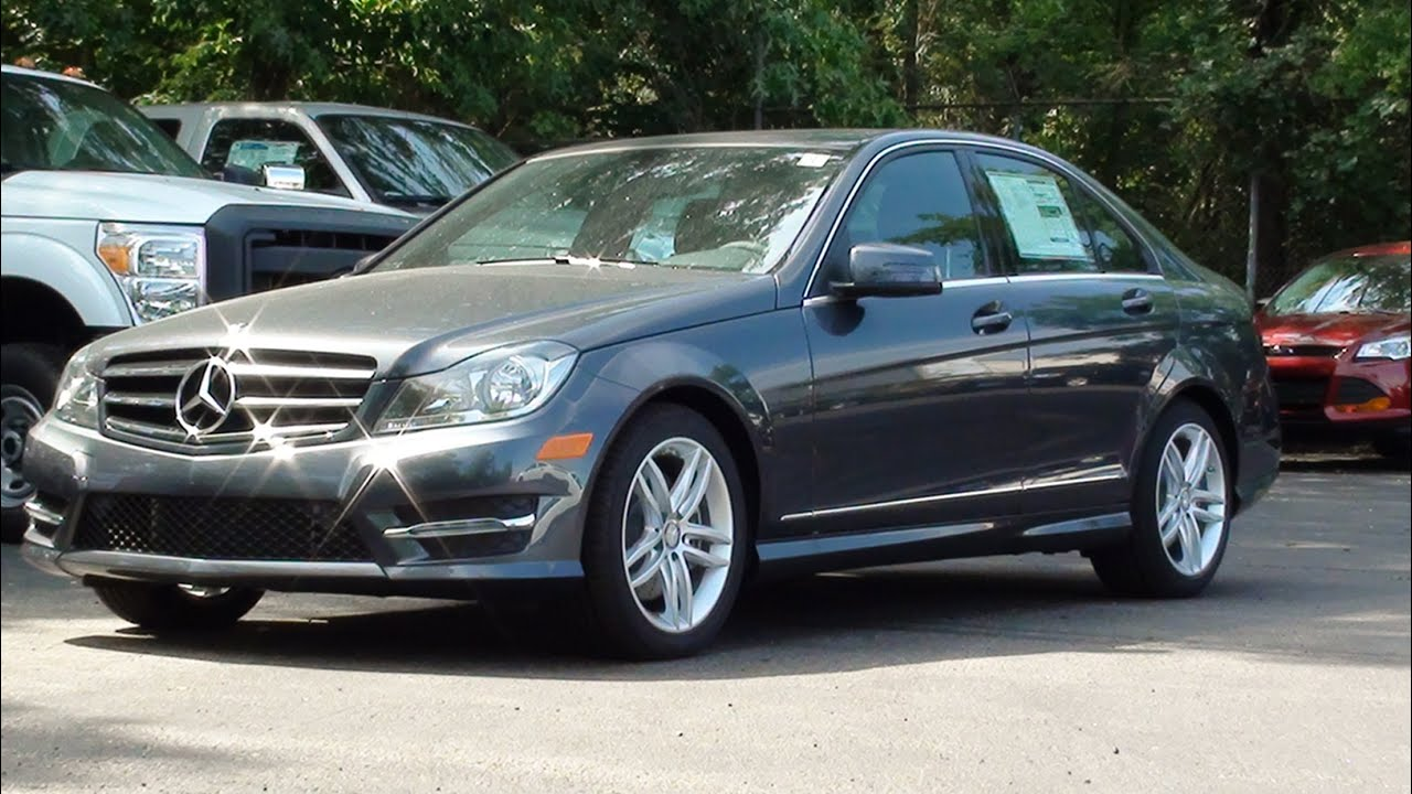 Mvs 2014 mercedes benz c300 sport 4matic youtube for 2014 mercedes benz c300 sport