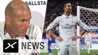 "Zinedine Zidane: ""Cristiano Ronaldo hat sich Pause verdient"" | Real Madrid"