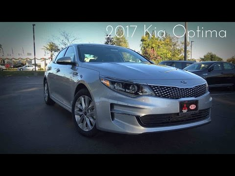 2017 Kia Optima EX 2.4 L 4-Cylinder Road Test & Review