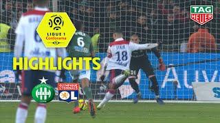 AS Saint-Etienne - Olympique Lyonnais ( 1-2 ) - Highlights - (ASSE - OL) / 2018-19