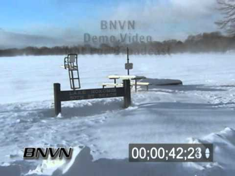 2/11/2003 Blowing Snow Stock Video