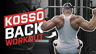 Back | Kosso | Bodybuilding Series