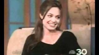Angelina Jolie on Ellen Show