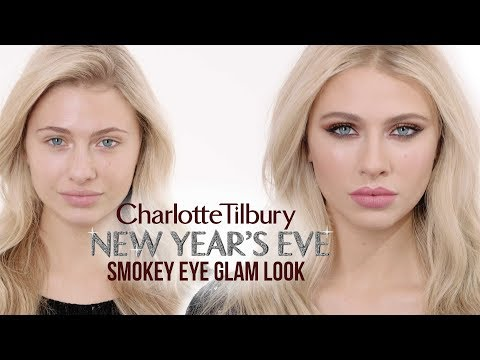 New Year's Eve Glam Smokey Eye Makeup Tutorial   Charlotte Tilbury