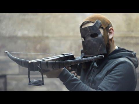 Как сделать АРБАЛЕТ из игры RUST How to make crossbow from Rust