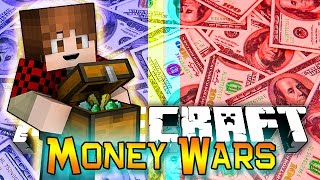 Minecraft: MONEY WARS GAME #6 - Funny Snipes & Funnier Jump Fail! (Epic Mini-Game)