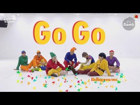 "[RUS SUB] BTS ""Go Go"" Dance Practice (Halloween ver.)"