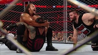 Roman Reigns vs Kevin Owens - Steel Cage Match( Raw) Sept 19, 2016 Full Show HD.