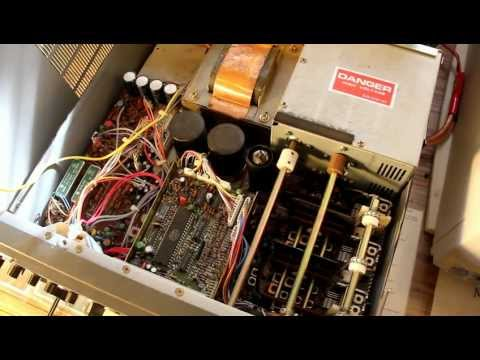 Electrical Danger: Listening to a Kenwood TS-530s HF transceiver with the cover removed