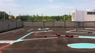 R/C MUGUEN MTX6 ON ROAD  RACE PARK CANCUN