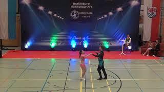 Anja Gentner & Christian Gartmeier - Landesmeisterschaft Bayern 2018
