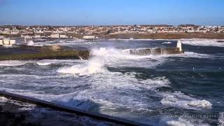 Storm in Wick Bay 01/02/14
