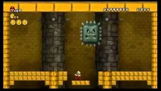 newer super mario bros wii all bosses