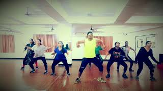 SWAG SE SWAGAT ZUMBA DANCE FITNESS EASY CHOREOGRAPHY