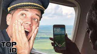 Top 10 Things You Should Never Do On A Plane - Part 2