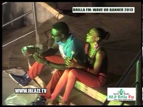 Brilla Fm Djinee's Performance Blaze Tv video