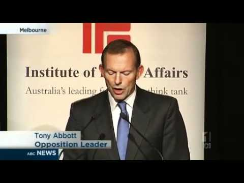 Abbott talks tough asylum seekers