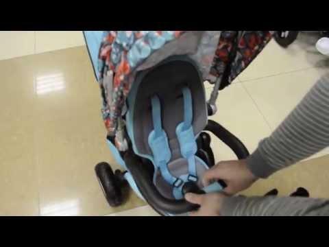 Детский трехколесный велосипед - коляска Mars Trike Chic 2 Print 2015