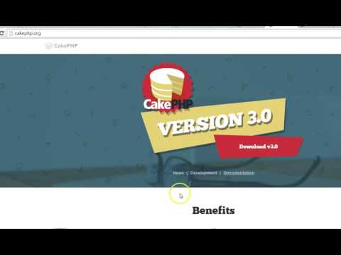 Cakephp 3 tutorial with user authentication and admin   free.